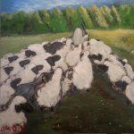מור אלתר - עדר 40x40