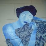 לנלי צייגר - אישה עטופה